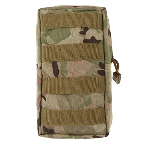 Homyl Pochette Militaire Mini Sac de Organisateur Utilitaire Randonne Accessoire - CP Camouflage, Taille Unique