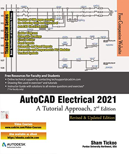 AutoCAD Electrical 2021: A Tutorial Approach, 2nd Edition (English Edition)