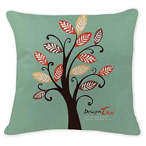 IDECORATE Funda Almohada Sofá,English Words Love You Mr Cushion Cover Set Love Heart Pillow Case Decoration Wedding Gift Cushion Cover For Sofa Office