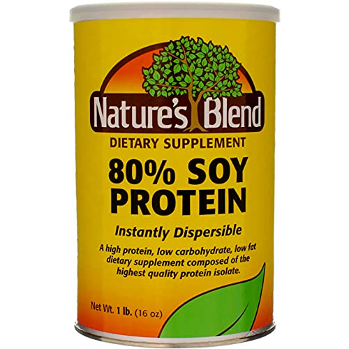soy protein powders Protein Powder 80% Soy Isolate 1 lb Pwdr