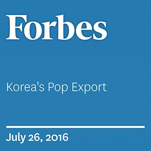 Korea's Pop Export audiobook cover art