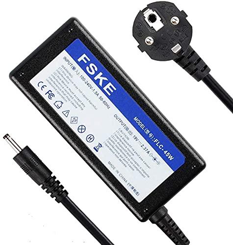 FSKE 45W 19V 2.37A Cargador Portátil para Acer PA-1450-26 A13-045N2A Power Supply, Aspire 5 Swift 3 5 1 Chromebook 11 14 R11 15 C720 Notebook EUR Adaptador,3.0 * 1.1mm