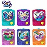 Polly Pocket Jeu d'adresse GWF48 – 1 mini kit de jeu 6 pièces, assortiment aléatoire