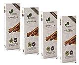 4 x 100 Gram - Ciokarrua Tavoletta Cioccolato di Modica alla Cannella...
