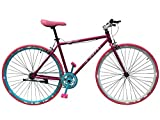 Helliot Bikes Soho 06 Bicicleta Fixie Urbana, Unisex Adulto, Rosa, M-L