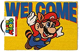Super Mario - Felpudo Welcome