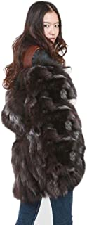 Best womens silver fox fur coat Reviews