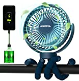 Best Battery Powered Fans - Portable Stroller Fan, Use As Power Bank 55H Review