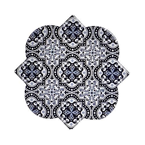 De onderzetters van Hogar y Mas worden individueel uitgevoerd en in Dolomieten, met abstracties. Design - tegels, met in het mediterranen - B