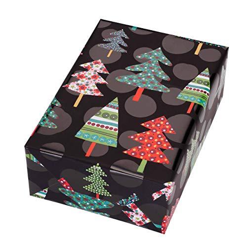 Papel Regalo Navidad Rollo 50M Marca JUNG Verpackungen