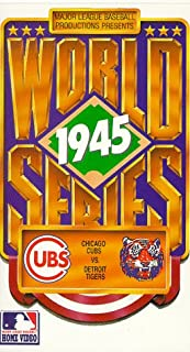 1945 World Series: Chicago Cubs vs. Detroit Tigers VHS