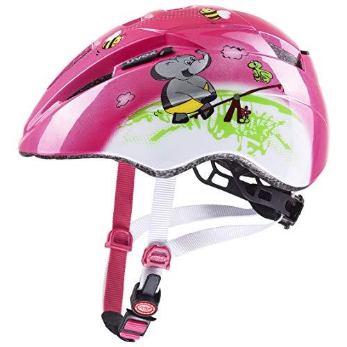 uvex Kid 2 Casco de Bicicleta, Juventud Unisex, Pink Playground, 46-52 cm