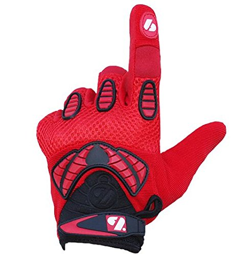 BARNETT FRG-02 American Football Handschuhe Receiver, Empfänger fit, RE,DB,RB, rot (S)