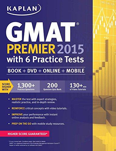 Kaplan GMAT Premier 2015 (Kaplan Test Prep)