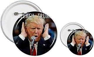 Kit de création de boutons et de badges avec le président américain contre la grande image