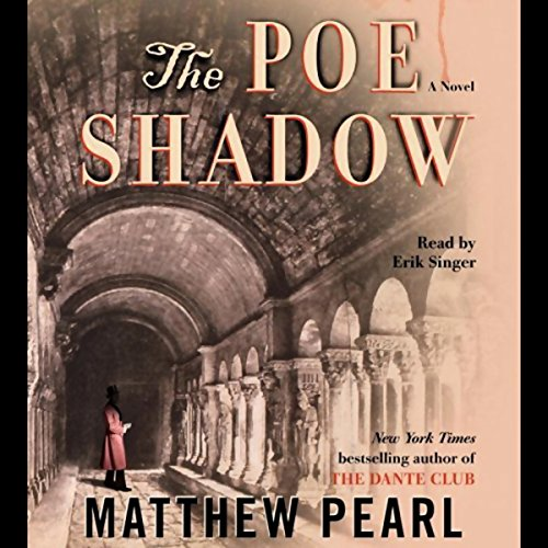 The Poe Shadow audiobook cover art