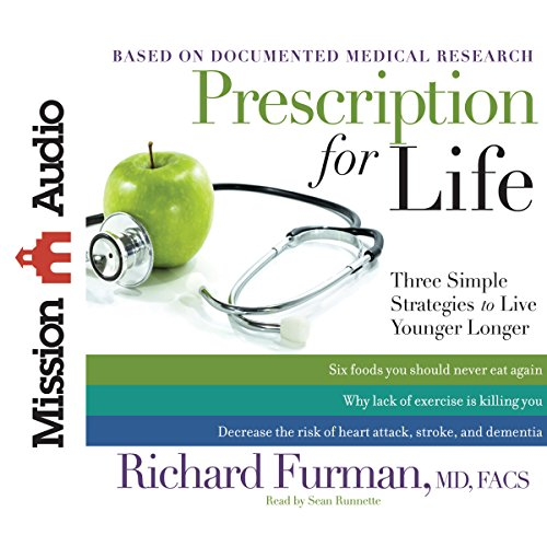Prescription for Life audiobook cover art