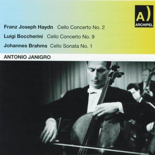 Antonio Janigro, Jörg Demus, Orchestra Alessandro Scarlatti di Napoli della RAI, Franco Caracciolo, Orchestra Sinfonica di Roma della RAI & Rudolf Kempe