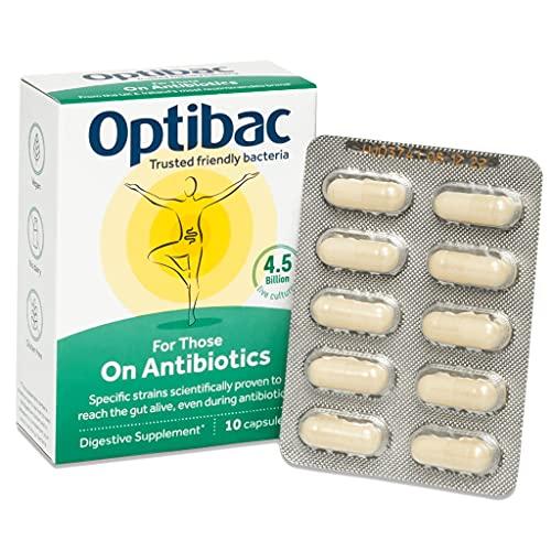 Optibac for Those on Antibiotics | 4.5 Billion Friendly Bacteria | L....