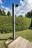 Gre DSPS35 Doccia Solare da Giardino, con Lavapiedi, PVC, 35 L
