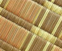 家具の里 い草ラグ 然 (ぜん) 江戸間6畳 261×348cm ベージュ 長方形 日本製 職人の手作り い草カーペット い草マット インスタイル