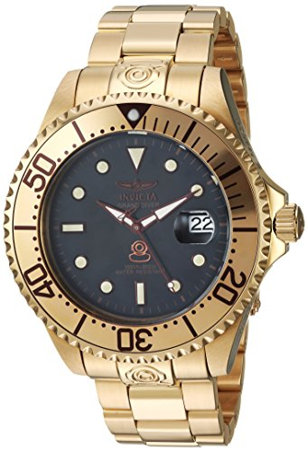 Men's Connection Automatic-self-Wind Watch with Stainless-Steel Strap, Gold, 22 (Model: ) - Invicta 24766