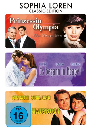 Prinzessin Olympia / Es begann in Neapel / Hausboot [3 DVDs]