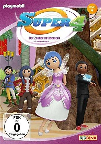 Super 4 - DVD 4: Der Zauberwettbewerb