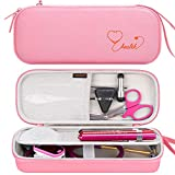 Canboc Hard Stethoscope Case for 3M Littmann Classic III, Lightweight II S.E, Cardiology IV, MDF Acoustica Stethoscope, Mesh Pocket fits Medical Scissors, Penlight, Oral Thermometer, Pink