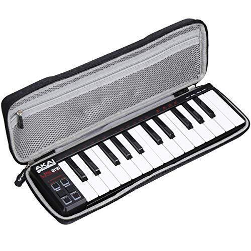 Aproca Hart Schutz Hülle Reise Tragen Etui Tasche für AKAI Professional LPK25 Portabler MIDI Keyboard Controller