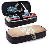 Weltweit okayest Hunter Leather Pencil Case Pencils Highlighters Bag für Student Boys Girl...