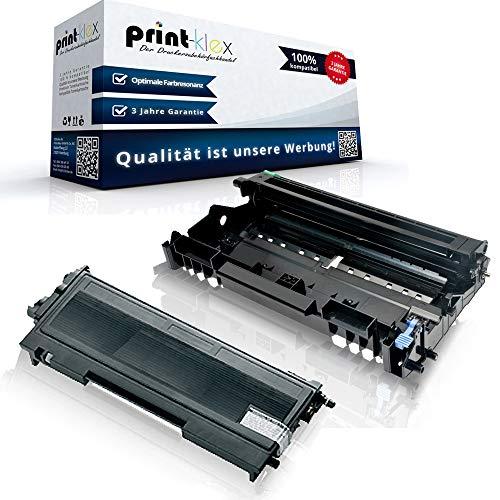 Print-Klex Print-Klex Toner & Trommel kompatibel für Brother HL 2020 HL 2030 HL 2030 R HL 2032 HL 2032 DN HL 2040 HL 2040 N HL 2040 R HL 2040 Series HL 2050 HL 2070 N HL 2070 NR DR2000&TN2