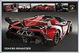 Motorsport - Lamborghini Veneno Roadster - Poster - Grösse