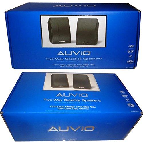 New AUVIO 2-Way Satellite Speakers (2 In each Package)