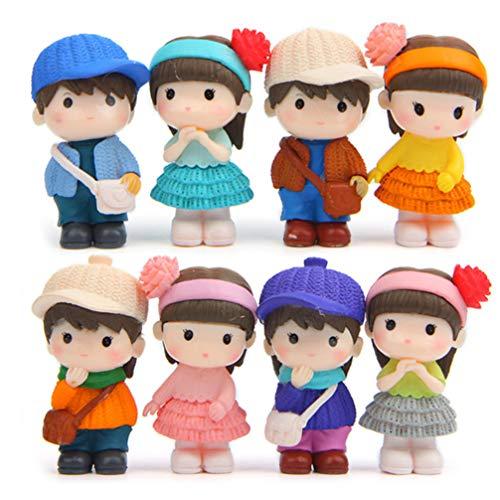 VOSAREA Lot de 8 figurines...