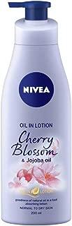 NIVEA Body Lotion, Oil in Lotion Cherry Blossom & Jojoba Oil, 200ml