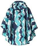 Summer Mae Manteau Imperméable Léger pour Enfants-Vêtements de Pluie Veste de Poncho Montagne Bleue XL