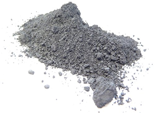 98,5% Molybdändisulfid, [100g], Molybdän(IV)-sulfid, MoS2, 1317-33-5, 4-5µm Pulver, sehr fein