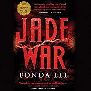 Jade War audiobook cover art