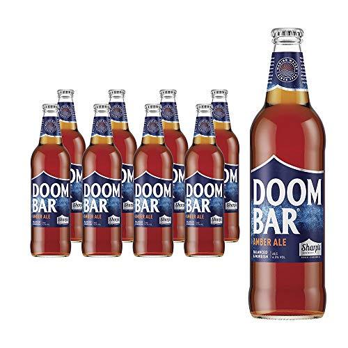 Doombar Cerveza Amber Ale.4,3% Vol. Caja de 8 botellas de 500 ml