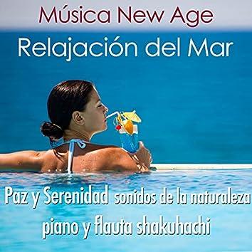 Relajación del Mar: Sonidos y Canciones New Age Relajantes para Meditaciones o Yoga para lograr la Paz Interior, Tranquilidad y Calma con Música de Piano con Sonidos Especiales de la Naturaleza