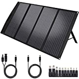 TwelSeavan Portable Solar Panel Charger, 120W Foldable Solar Panel for Jackery 160/240/500/1000 Power Station, Suaoki/Goal Zero...