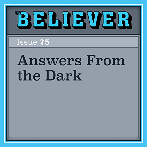 Answers from the Dark cover art