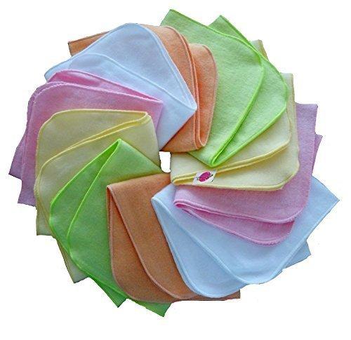 Babymajawelt® - Couches en flanelle mini 25/25 - 10-Pack fille NOUVEAU - colorée