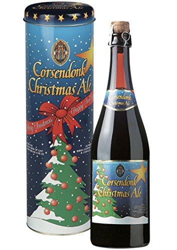 Bier Geschenk Set Corsendonk Christmas Ale 0,75 l. in Metalldose