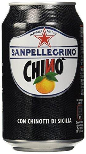 Sanpellegrino Chinò con Chinotti di Sicilia, 330 Ml [Confezione da 24]