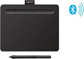 """Wacom Intuos Wireless Graphics Drawing Tablet with Bonus Software Included, 7.9"""" X 6.3"""", Black (CTL4100WLK0)"""