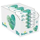 Lingettes Bébé Hypoallergénique et non parfumé - 6 paquets de 144 lingettes