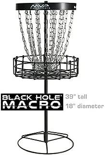 MVP Disc Sports Black Hole Macro Mini Disc Golf Basket