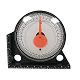 Toolso Mini Inclinometer Measurement Tool Protractor Tilt Level Meter Angle Finder Clinometer Slope Angle Meter With Magnetic Base